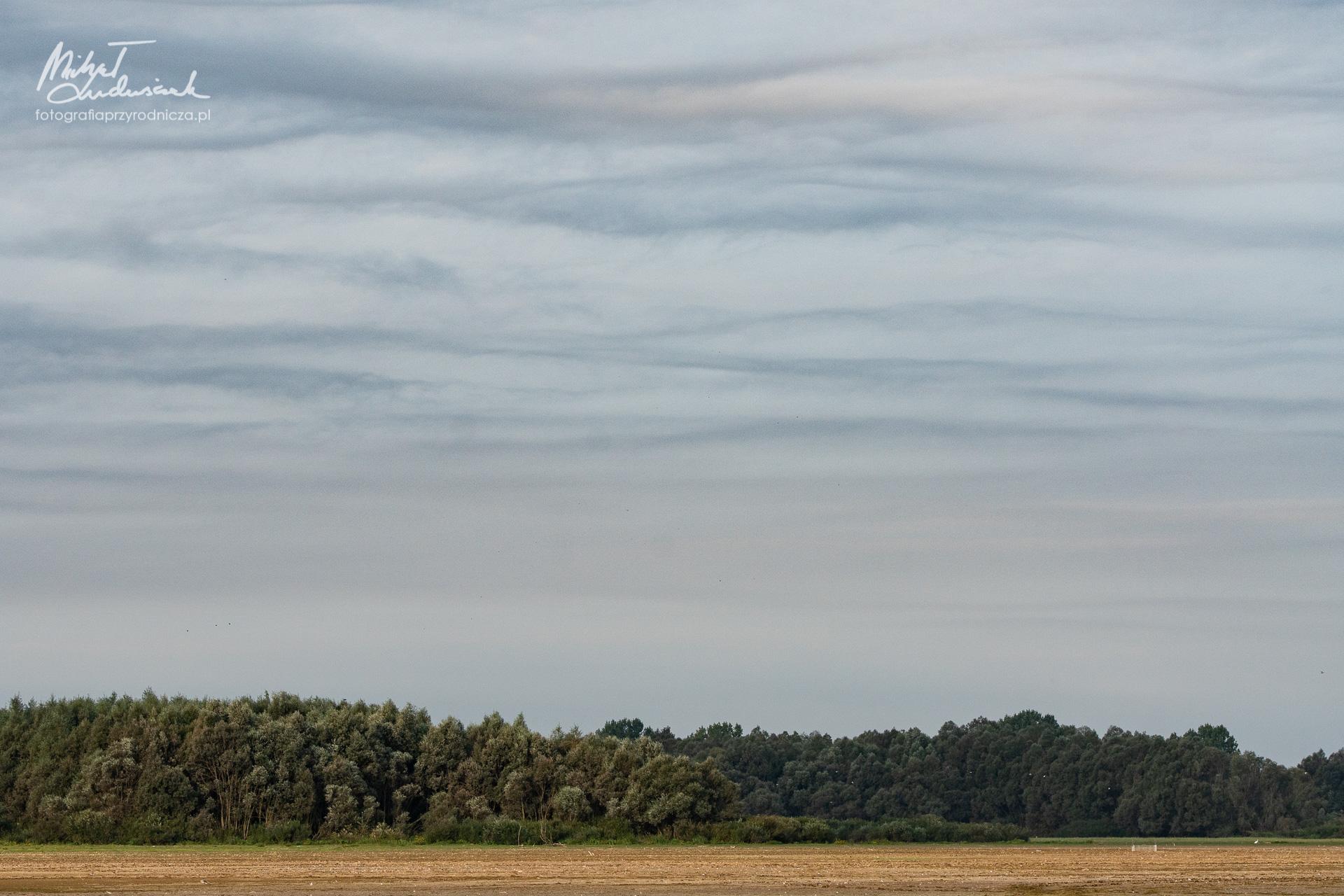 Dziwne chmury nad cofką