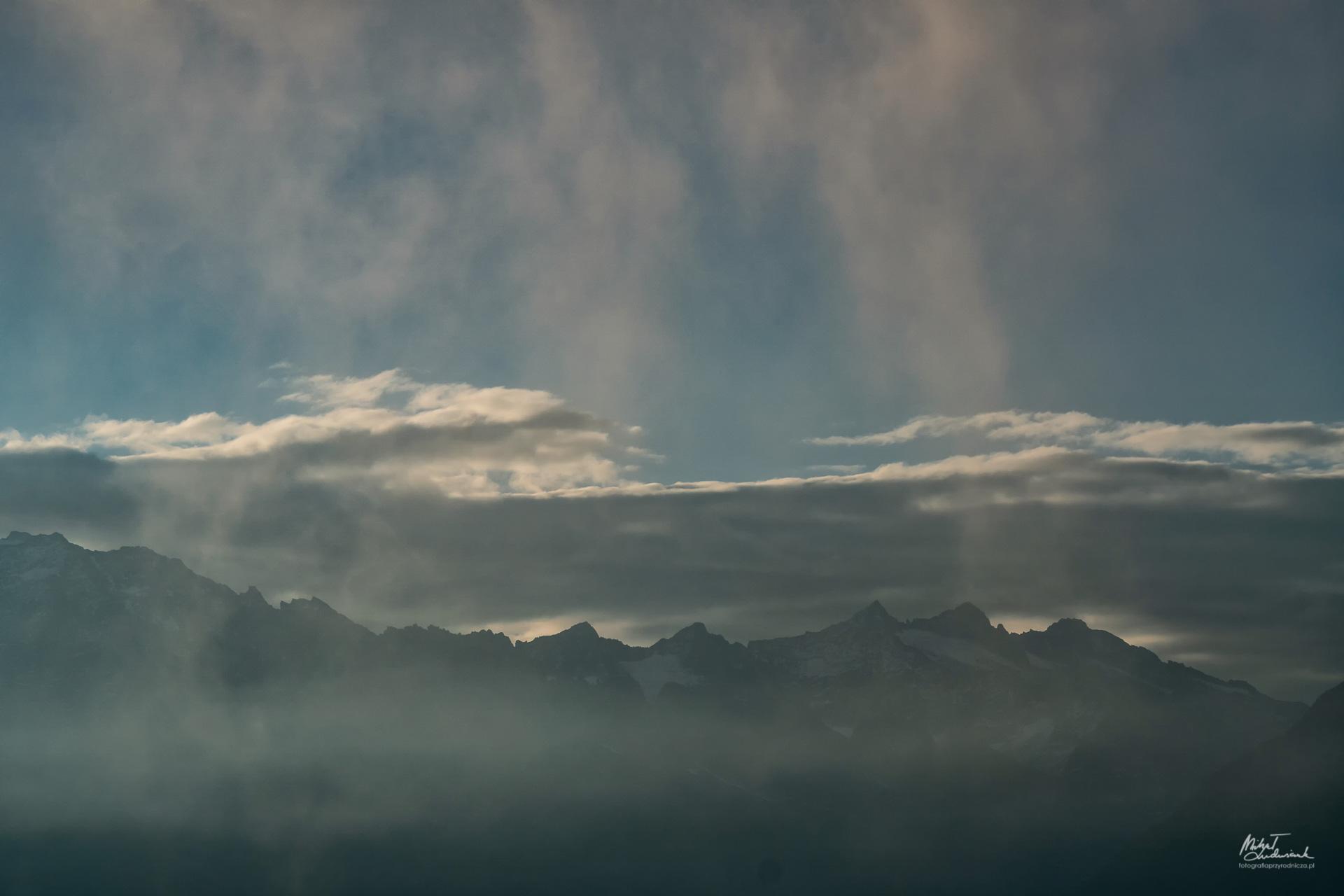Fotografowanie z wnętrza chmury