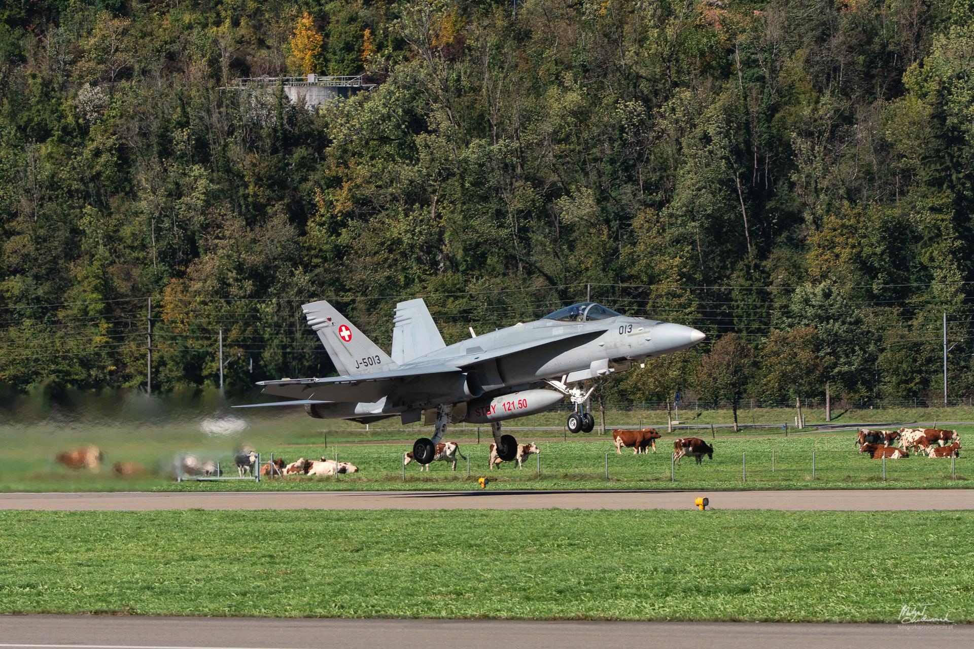 F/A-18 Horner lądowanie