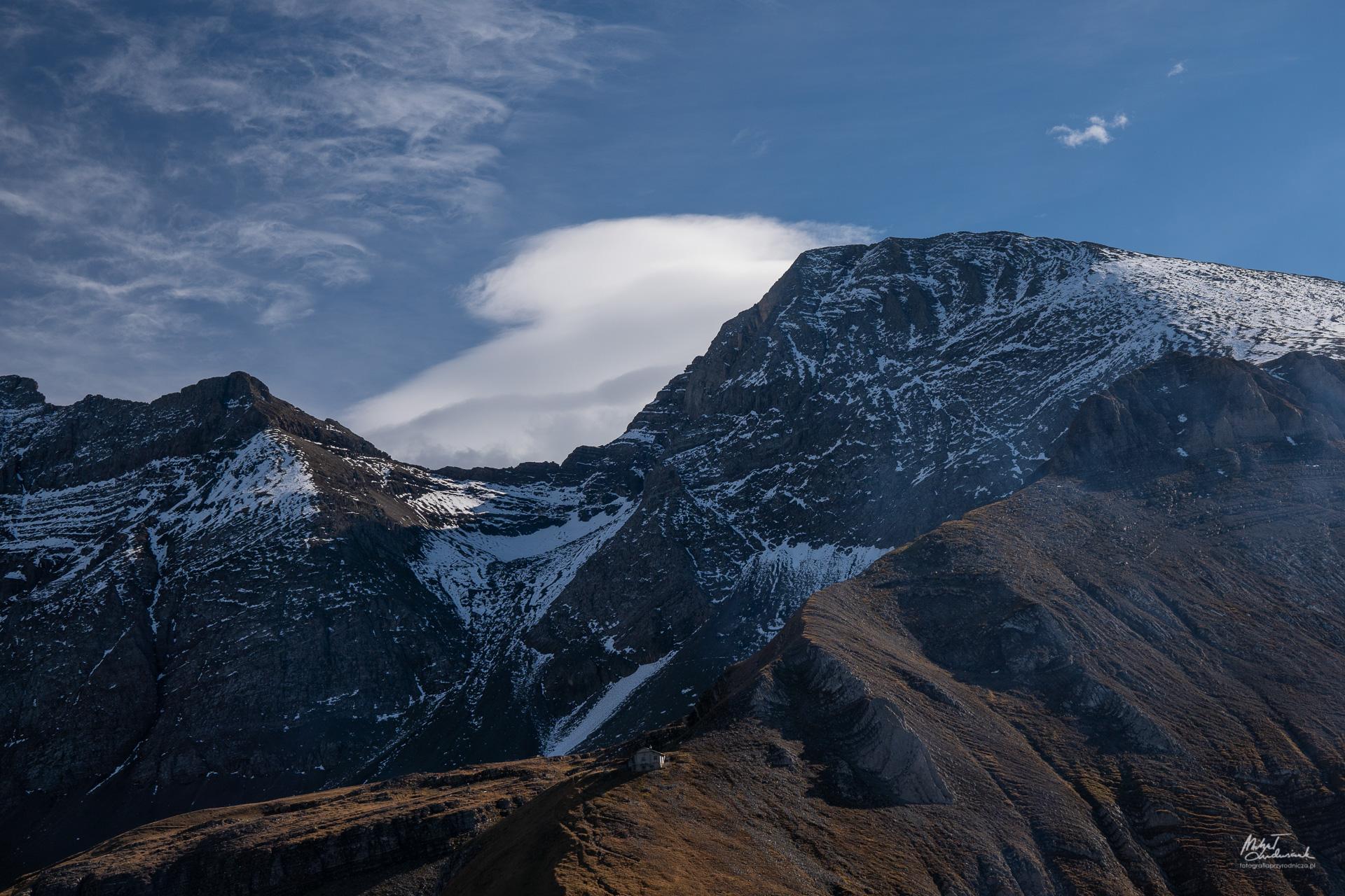 Popołudniowy rzut oka na góry