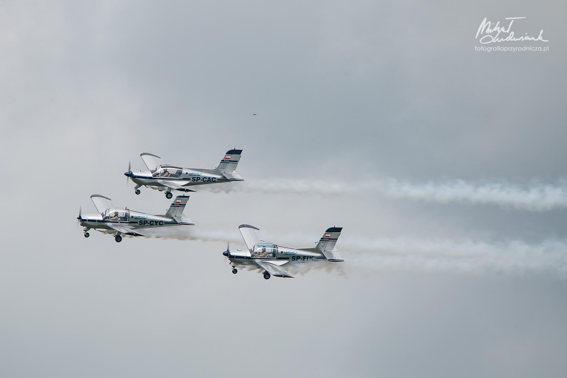 Morane Rallye, Cellfast Flying Team